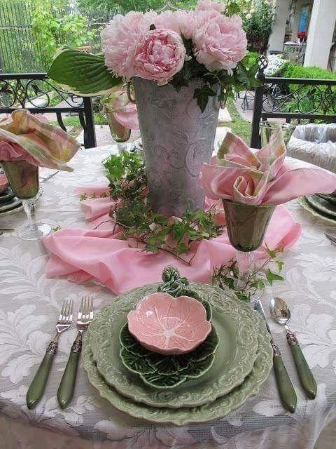 ===Como decorar una mesa con alegria...= 6ef56e1c