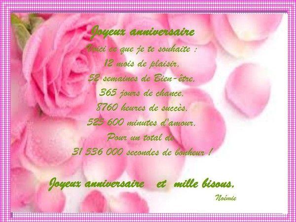 Remerciement Pour Mon Anniversaire Sur Facebook Free Wiring