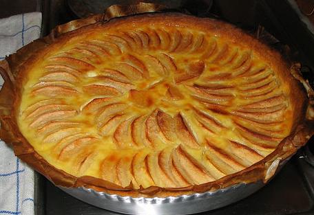 Atelier cuisine enfant 0002 la tarte aux fruits des - Dessin tarte aux pommes ...