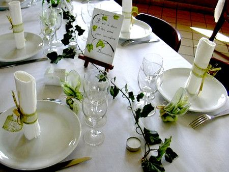 1000 images about d coration de table on pinterest mariage centre and tables. Black Bedroom Furniture Sets. Home Design Ideas